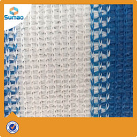 HDPE Balcony Fence Net/plastic mesh black shade cloth/privacy screen/balcony screen