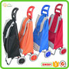 Steel hand trolley new style fashionable tote travel bag