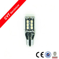 T15 4w 15SMD White Canbus Led Car Light Turn/Brake Light Auto bulb