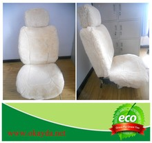 Beige sheepskin car seat covers cheap price