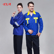 Two Tones Acid Resistant Work Clothes for oil and gas industry