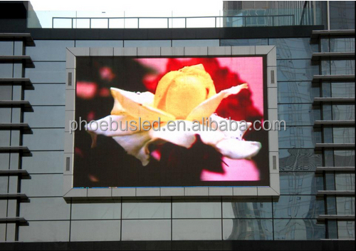 CE&RoHS certificated p20 outdoor full color led panel