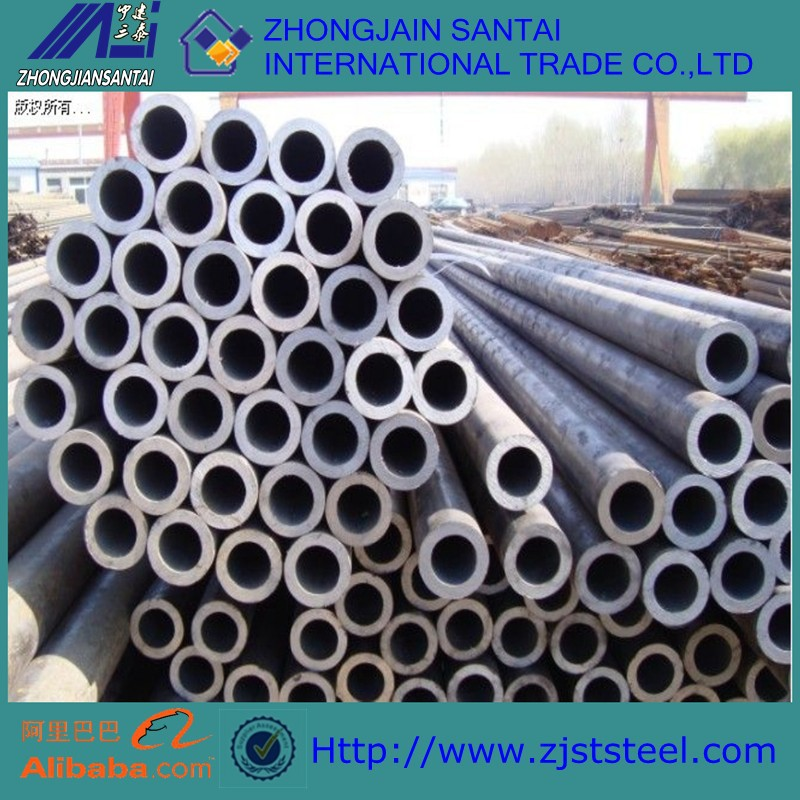 ST44 ASTM A53 A106 GR.B Carbon Steel Pipe seamless steel pipe