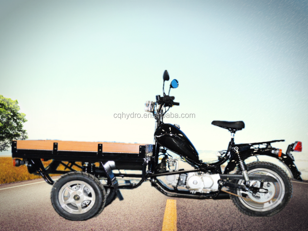 50cc / 150cc Tricycle Cargo Bike / Tricycles Motorcycle Cargo With Cabin