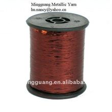 12 micron Deep copper M type metallic yarn