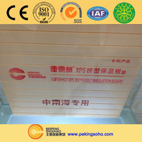 SUPERHOT thermal insulation XPS 4*8 foam sheet price