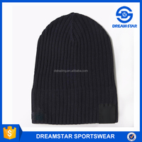 Italy Club Black Football Knitted Hat