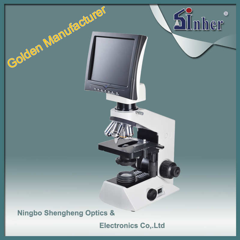 SHD-58 Manufacturer for 9inch LCD Screen Optics Digital Microscope
