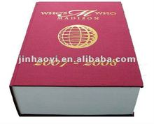 Cloth bound book hard cover dictionary book printing