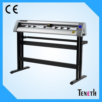 Teneth cutting plotter manufacturers with various size vinyl cutter machine