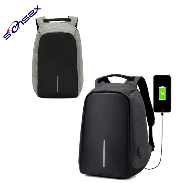2017 New Design Anti Theft Leisure Backpack Travel Backpack With Usb Port