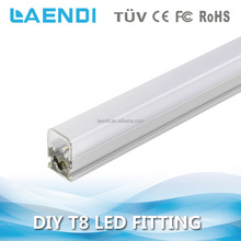 Aluminum frame 1800lm batten linear fitting 18W integrated t8 tube