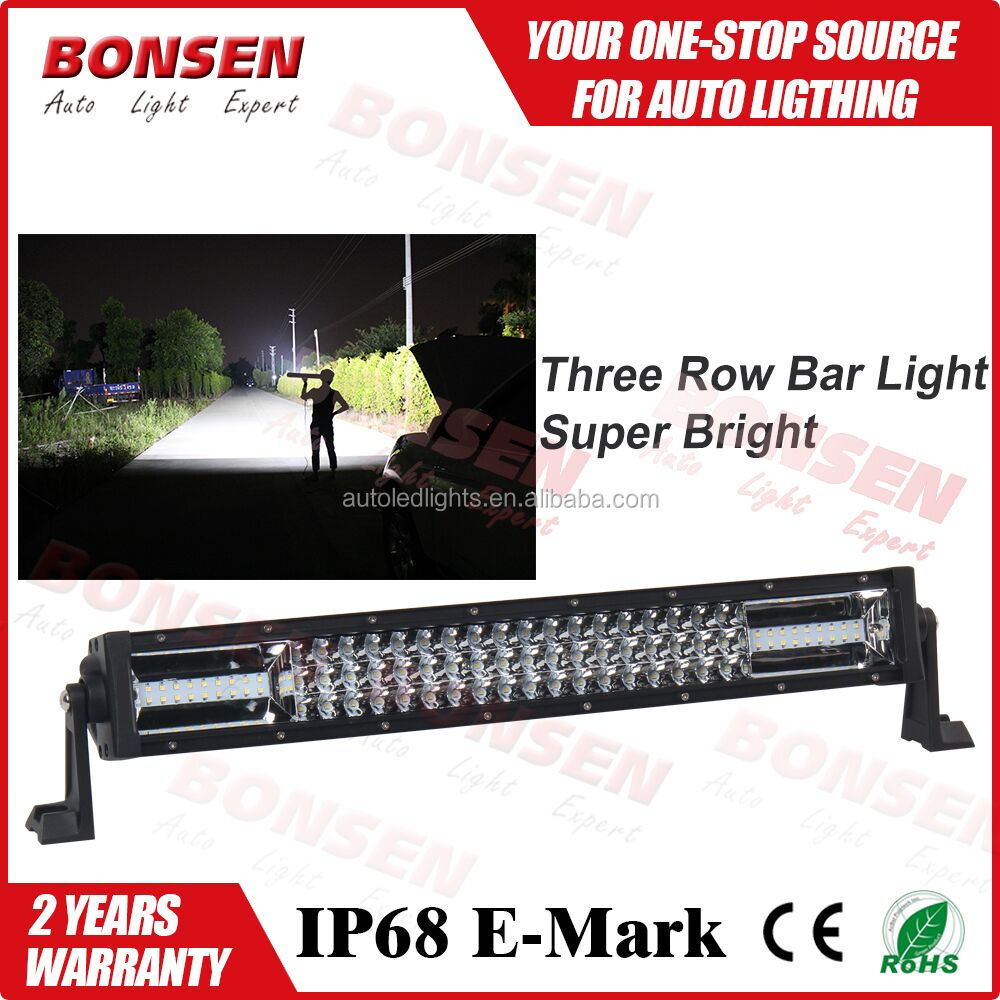 135W 22 inch lighting comb beam straight curved LED driving light bar for SUV ATV 4x4 truck off-road vehicle
