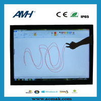42-82 inch full hd Interactive LED Touch Screen Monitor with best touchscreen price