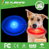 Custom big 20cm silicone led dog pet frisbee disc