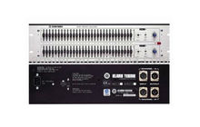 Klark Teknik DN360- Stereo 31 Band Equalizer Dual Channel, 1/3 Octave Graphic Equalizer with 30mm Faders