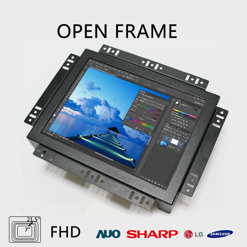 best sale Square 30 inch open frame lcd monitor with hd for commercial use