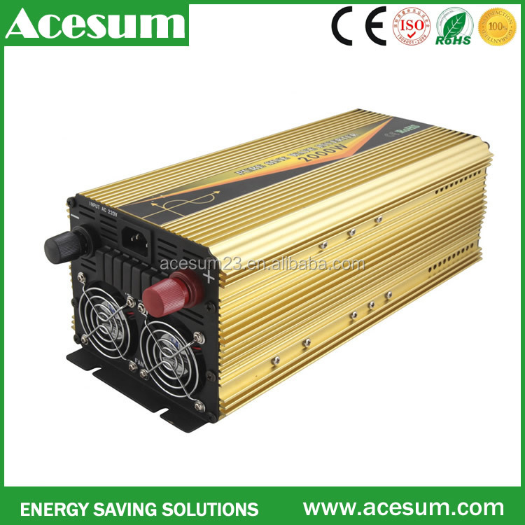 Hot sale 50Hz 60Hz 12V 24 48V factory price 3000w pure sine wave inverter charger 110V 220V 230V 240V with battery charg