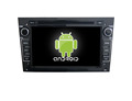 Quad core!car dvd with mirror link/DVR/TPMS/OBD2 for 7inch touch screen quad core 4.4 Android system OPEL ASTRA H(Black)
