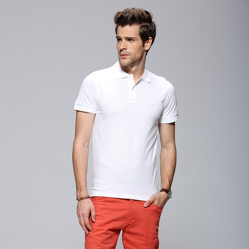 Fast Delivery Wholesale Embroidery Polo Shirt Men Striped