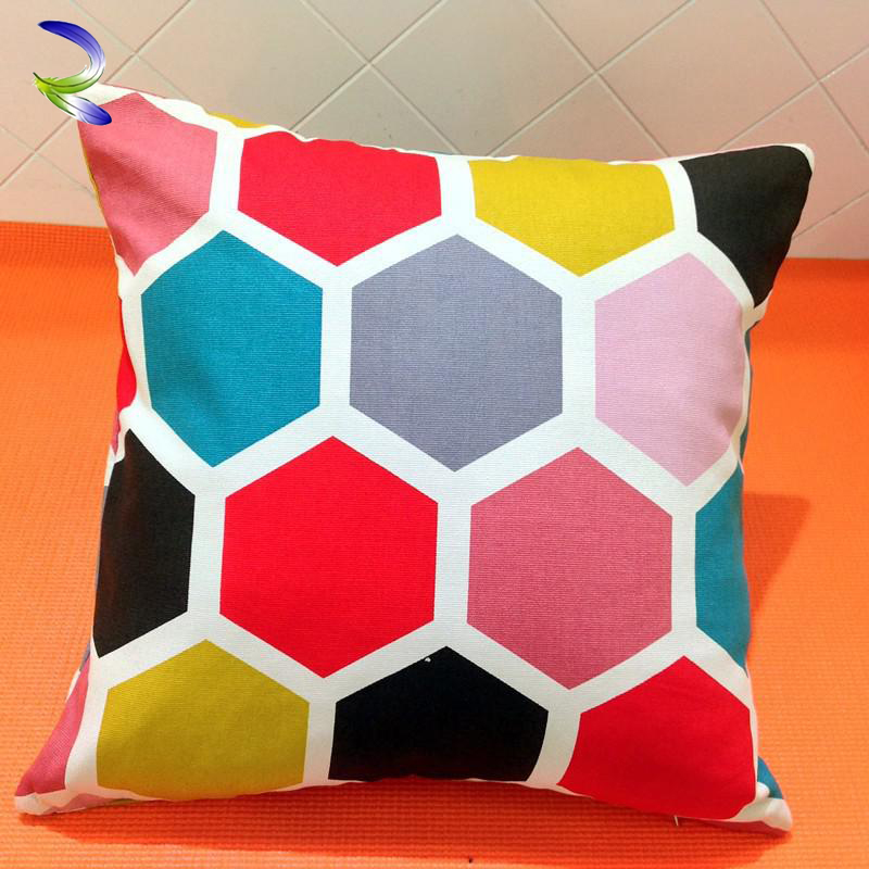 Cute And Fashion Good-Looking Dye Printed Cover Pebble Pillow cushion
