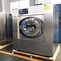 commercial washer extractor use with washing powder