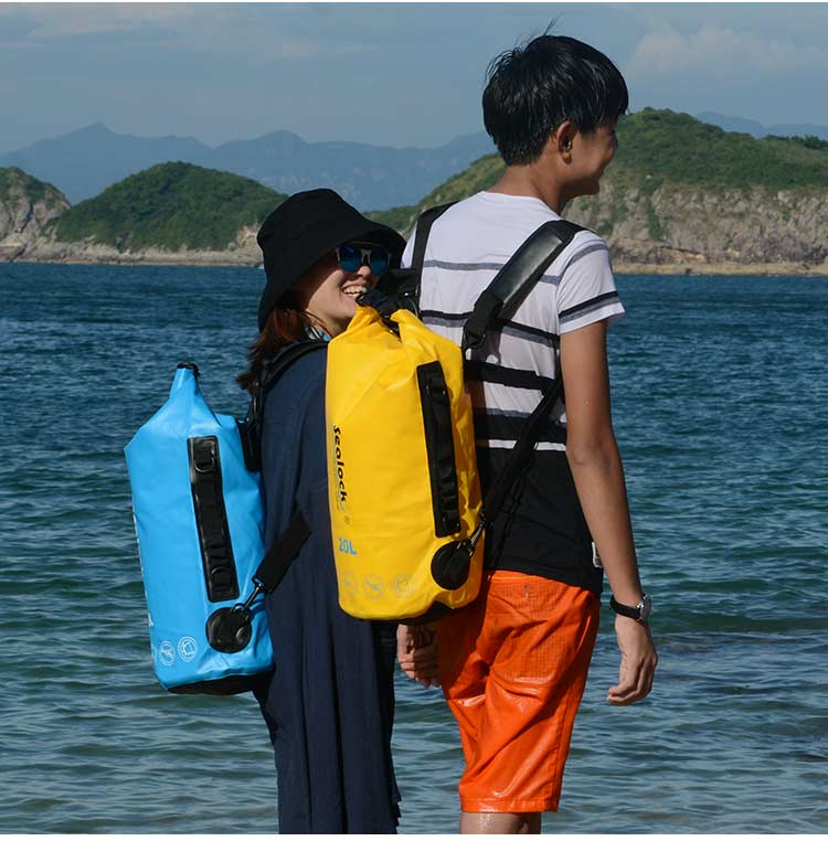 20L  420D TPU waterproof pipes bag for outdoor gear as a swimming bag