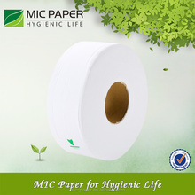 Hot sale 2Ply White Toilet tissue jumbo paper roll towels / 2ply jumbo paper roll