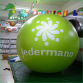 3 Dia Meter PVC Inflatable Light Helium Balloons / Advertising Decorative Giant Helium Balloon With Led Light