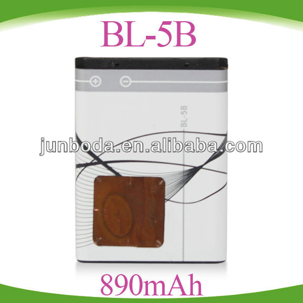 BL-5B BL5B Battery for Nokia 5500 Sport 6020 6021 6060 6070 6080 6124 classic 7260