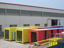 prefabricated Beautiful Modular container house