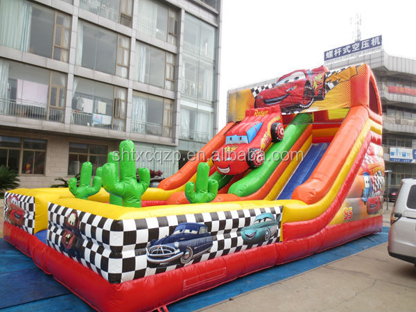 inflatable water slides china octopus design