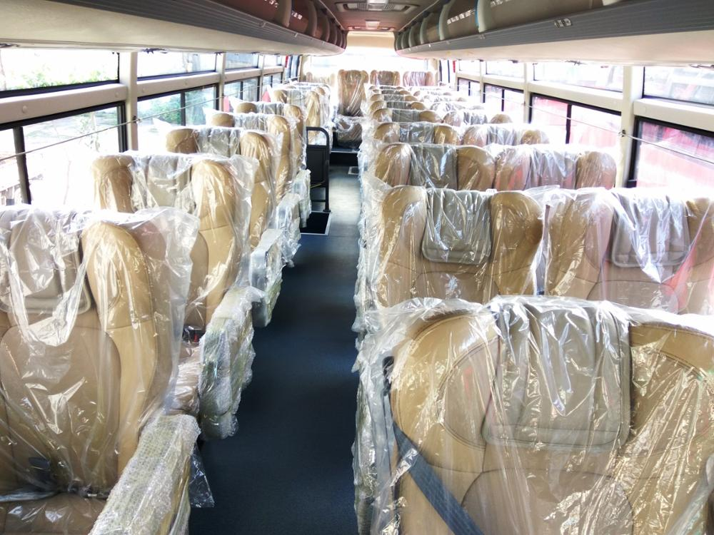 large space luxury commercial bus for sale