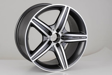 hot replica wheel rim for cheap mag wheels fit for18inch car wheels 5/112 with POWCAN and Baokang produce