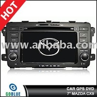 7 inch car dvd player speical for mazda CX9 with high resolution digital touch screen ,gps ,bluetooth,TV,radio,ipod