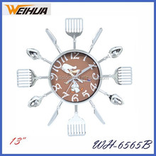 Oem different types of clocks cheap for wall
