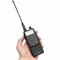 UHF VHF compatible usa army radios dual band Dual Band fm Transceiver Professional Two Way Radio vhf uhf Walkie talkie