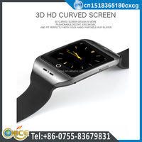 I8S health compass smart watch with facebook MTK2502C single SIM watch phone