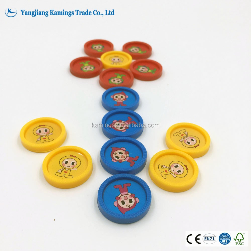 Custom Printing Carrom Board Game Playing Coins