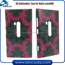 3D sublimation phone cover for Nokia Lumia 900 cell phone case
