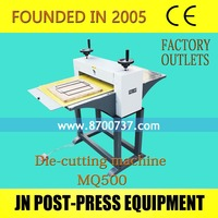 multipurpose die cutting machine MQ500 factory price die cutter machine