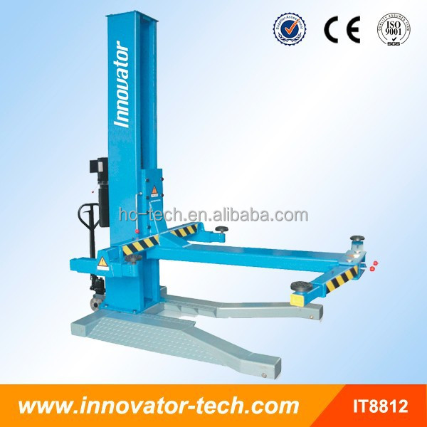 Mobile one post used automotive scissor lift