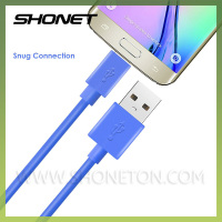 premium hi-speed colorful charging card usb 2.0 data link cable for micro phone