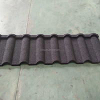 colorful sand coated metal roof tile