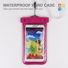 Outdoor inflatable phone dry bag waterproof hand phone pouch phone case