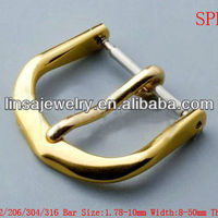 Gold Plated Stainless Steel Buckles For