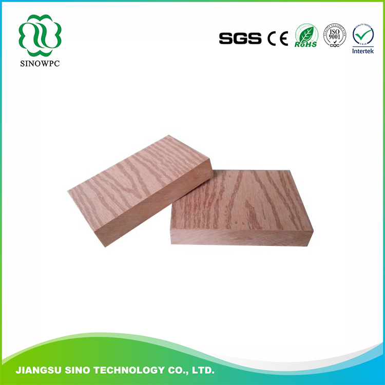 Outdoor Wood Plastic Composite wpc green building materials decking boards