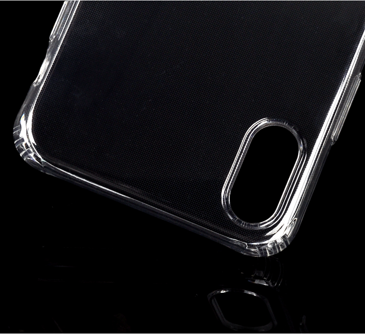 DFIFAN Mobile Phone Accessories Case 2018 , Slip Proof Clear Transparent tpu Phone Case for Apple iphone X cell phone covers