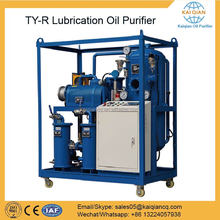 Wheel Cover High Vacuum Used Lubricanting Oil Filtration Equipment