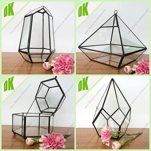 Plant terrarium brings a little bit of nature into your home// hanging plant Horizontal glass Terrarium containers on your table